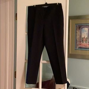 Ann Taylor Kate fit ankle pant size 10 navy